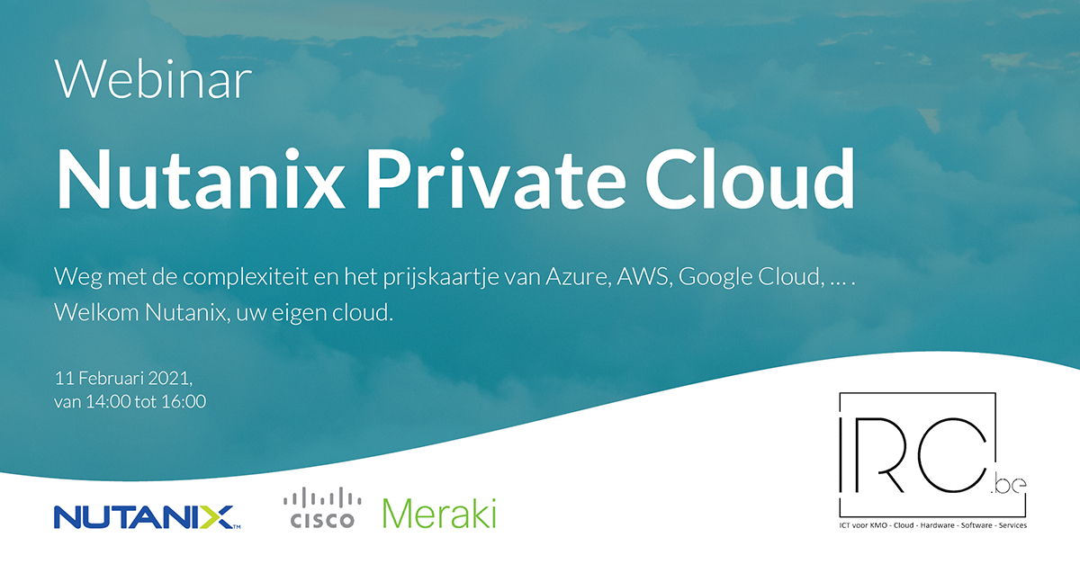 Webinar - Nutanix Private Cloud
